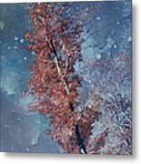 Nighty Tree Metal Print
