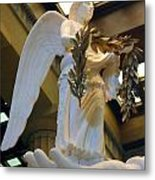 Nike Goddess Of Victory Metal Print by Linda Phelps