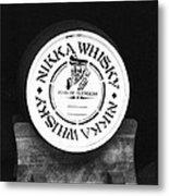 Nikka Whiskey Barrell Metal Print