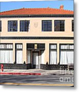 Niles California Banquet Hall . 7d12736 Metal Print by Wingsdomain Art and Photography