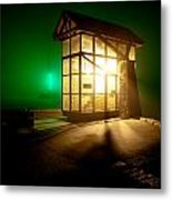 Nine O'clock Gun Metal Print