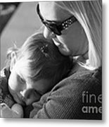 No Bond Like A Mother And Daughter Metal Print