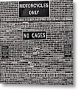 No Cages Metal Print