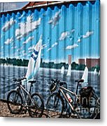 No Fossil Fuels Required Metal Print