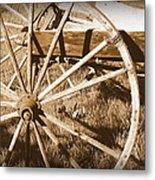 No Gas Needed Buggy Wheels Metal Print