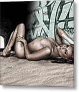 No Leaf Clover Metal Print