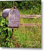 No Mail Today Metal Print