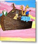Noah's Ark Metal Print by Christie Minalga