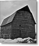Noble Barn Metal Print
