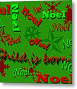 Noel Metal Print