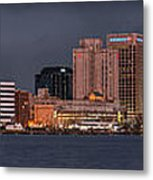 Norfolk Waterfront Color Metal Print
