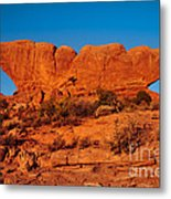 North And South Windows Metal Print