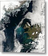 North Atlantic Bloom Metal Print by Science Source