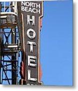 North Beach Hotel San Francisco Metal Print