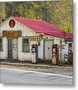 North Carolina Country Store And Gas Station Metal Print