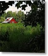 North Carolina Farm Metal Print