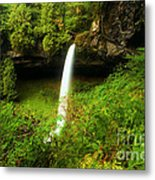 North Falls Canyon Metal Print