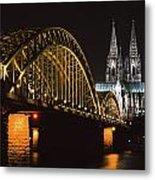 North Rhine, Westphalia, Dom And Metal Print
