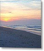 North Topsail Beach Serenity  Metal Print