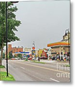 North Winooski Ave. Metal Print