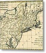 Northeast Coast Of America Metal Print