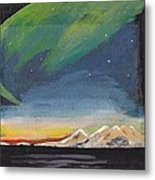 Northern Lights 2 Metal Print