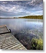 Northern Saskatchewan Lake Metal Print