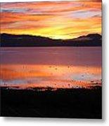 Northshore Sunrise Tahoe Metal Print
