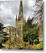 Norwich Cathedral England Metal Print by Darren Burroughs