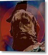 Nose Head Metal Print