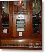 Nostalgic Wurlitzer Player Piano . 7d14400 Metal Print