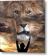 Not All Who Say Lord Lord Metal Print