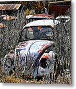 Not Herbie The Love Bug Metal Print