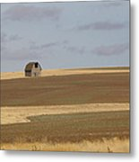 Not Much In Adams County Washington Metal Print by Christine Burdine