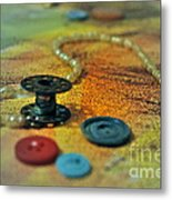 Notions Metal Print