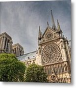 Notre Dame De Paris Metal Print by Jennifer Ancker