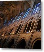 Notre Dame Interior Metal Print