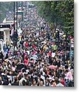 Notting Hill Carnival Metal Print