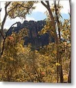 Nourlangie Rock Outlook Metal Print