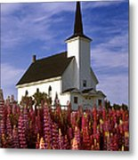 Nova Scotia Church Metal Print