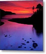Nova Scotia Sunrise Metal Print