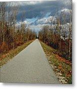 November On Macomb Orchard Trail Metal Print