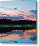 November Sunrise Metal Print