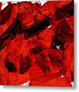 Nuclear Anialation Metal Print