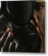 Nuclear, Biological, And Chemical Metal Print by Stocktrek Images