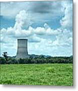 Nuclear Cooling Tower Metal Print