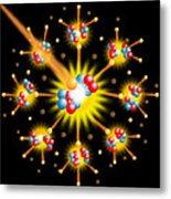 Nuclear Fission Metal Print by David Nicholls