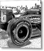 Number 16 Indy Metal Print