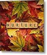 Nurture-autumn Metal Print