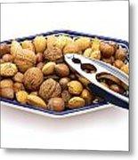 Nuts Metal Print
